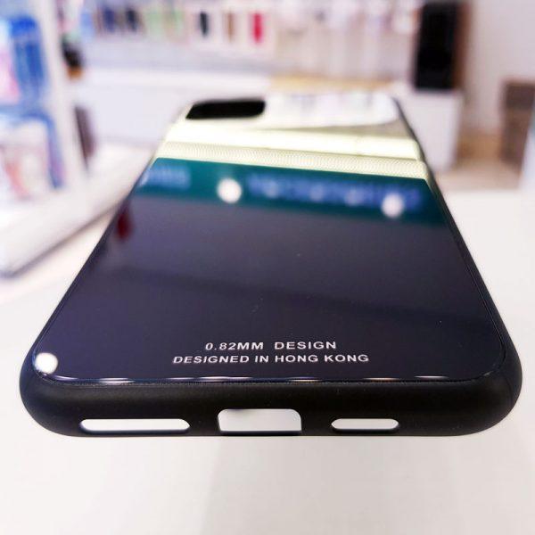 Ốp lưng điện thoại lưng kính gương đen1