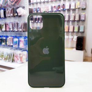 Ốp lưng điện thoại lưng kính logo táo xanh bộ đội