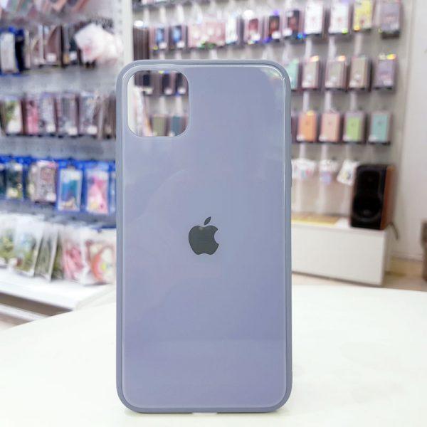 Ốp lưng điện thoại lưng kính logo táo xanh hòa bình