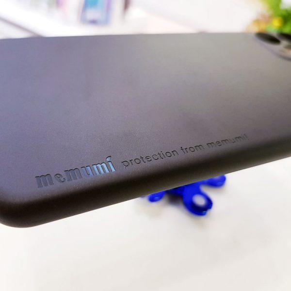 Ốp lưng điện thoại siêu mỏng Memumi đen3