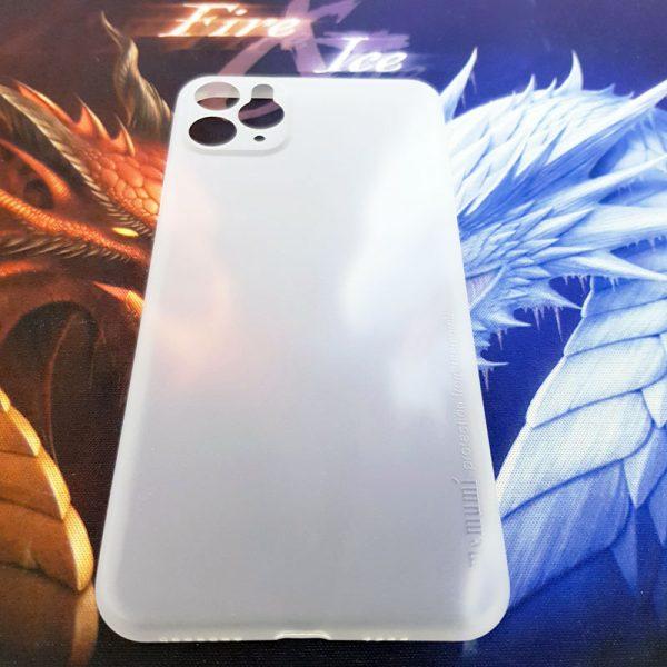 Ốp lưng điện thoại siêu mỏng Memumi trắng1