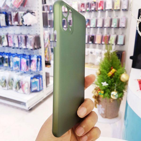 Ốp lưng điện thoại siêu mỏng Memumi xanh cốm5