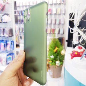 Ốp lưng điện thoại siêu mỏng Memumi xanh cốm4