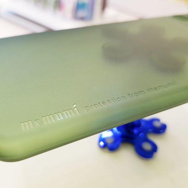 Ốp lưng điện thoại siêu mỏng Memumi xanh cốm2