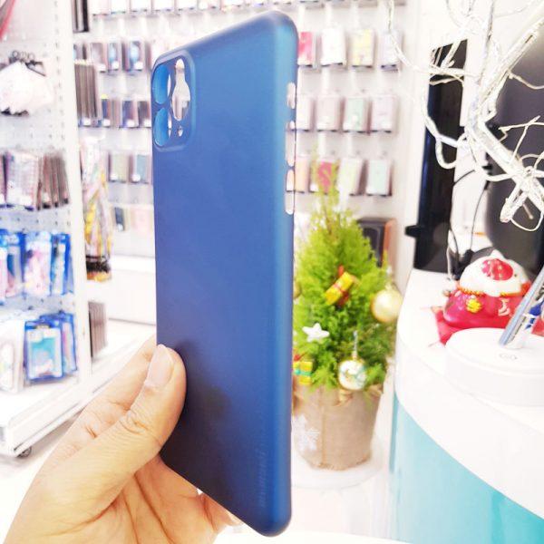 Ốp lưng điện thoại siêu mỏng Memumi xanh than2