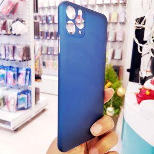 Ốp lưng điện thoại siêu mỏng Memumi xanh than1