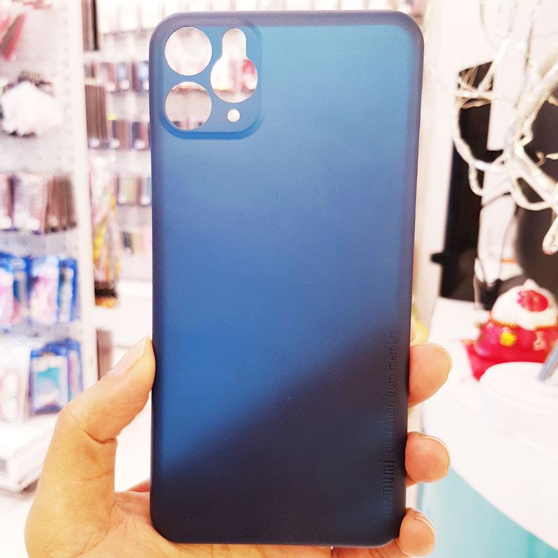 Ốp iPhone X siêu mỏng chính hãng Memumi xanh than