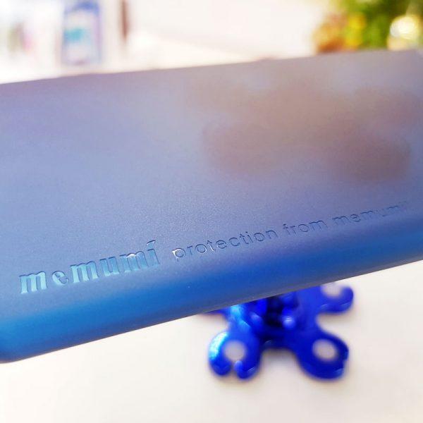 Ốp lưng điện thoại siêu mỏng Memumi xanh than5