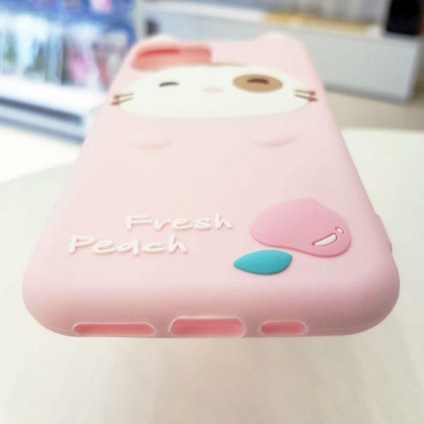 Óp lưng điện thoại Fresh Peach dễ thương hồng4