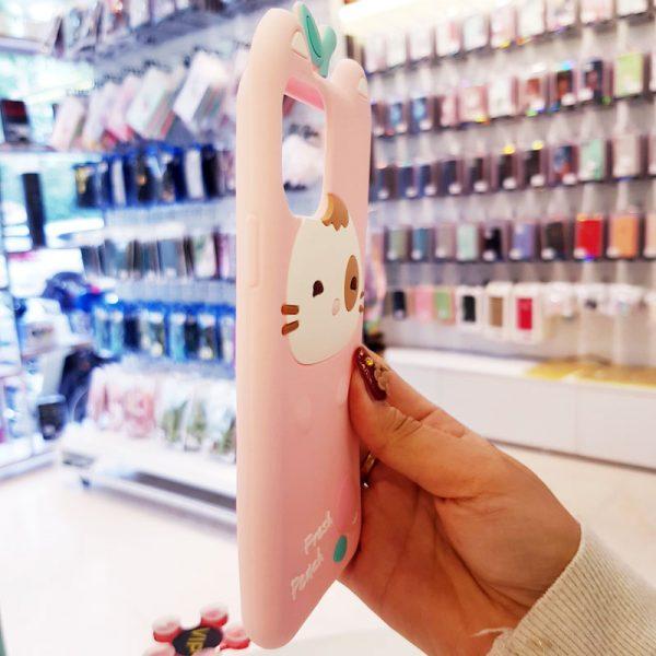 Óp lưng điện thoại Fresh Peach dễ thương hồng2