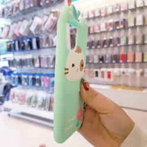 Óp lưng điện thoại Fresh Peach dễ thương xanh2