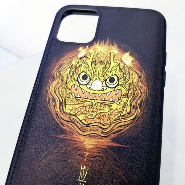 Ốp lưng điện thoại da sơn màu hệ thổ