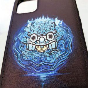 Ốp lưng điện thoại da sơn màu hệ thủy1