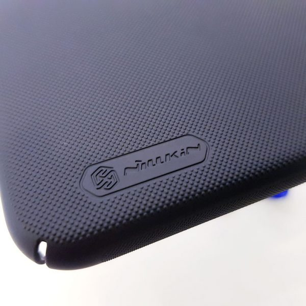 Ốp lưng điện thoại Nillkin Super Frosted Shield đen1