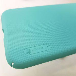 Ốp lưng điện thoại Nillkin Super Frosted Shield xanh mint2