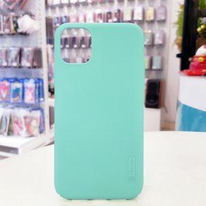 Ốp lưng điện thoại Nillkin Super Frosted Shield xanh mint1