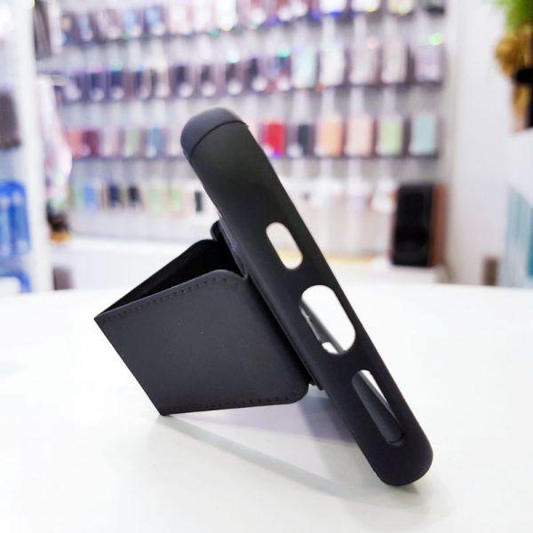 Ốp lưng điện thoại quai nam châm đen4