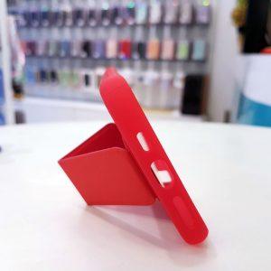 Ốp lưng điện thoại quai nam châm đỏ3