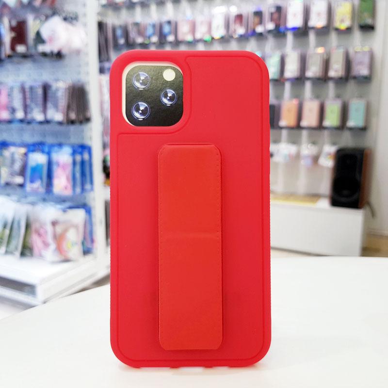 Ốp lưng iPhone X quai nam châm chống sốc màu đỏ2
