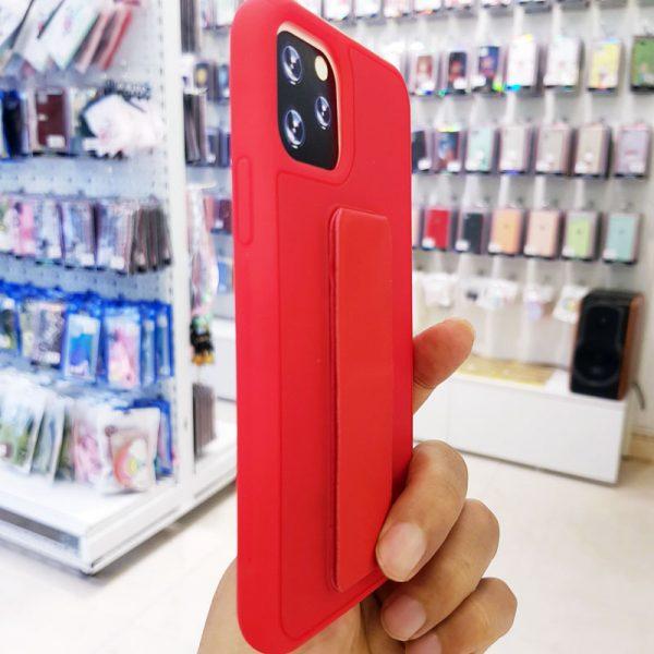 Ốp lưng điện thoại quai nam châm đỏ1