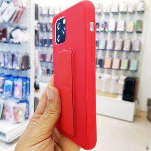 Ốp lưng điện thoại quai nam châm đỏ