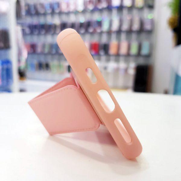 Ốp lưng điện thoại quai nam châm hồng1
