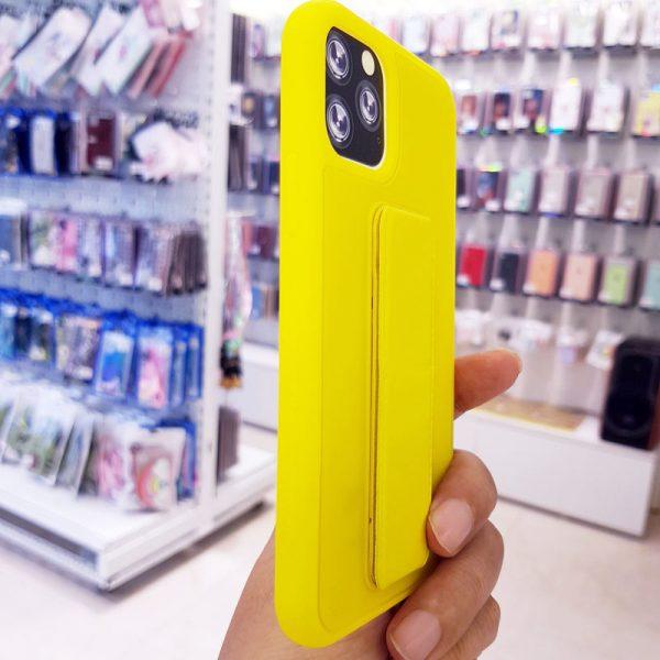 Ốp lưng điện thoại quai nam châm vàng4