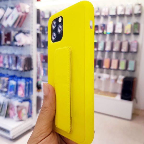 Ốp lưng điện thoại quai nam châm vàng3