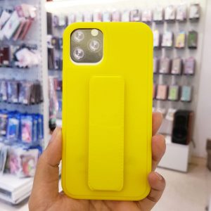 Ốp lưng điện thoại quai nam châm vàng2