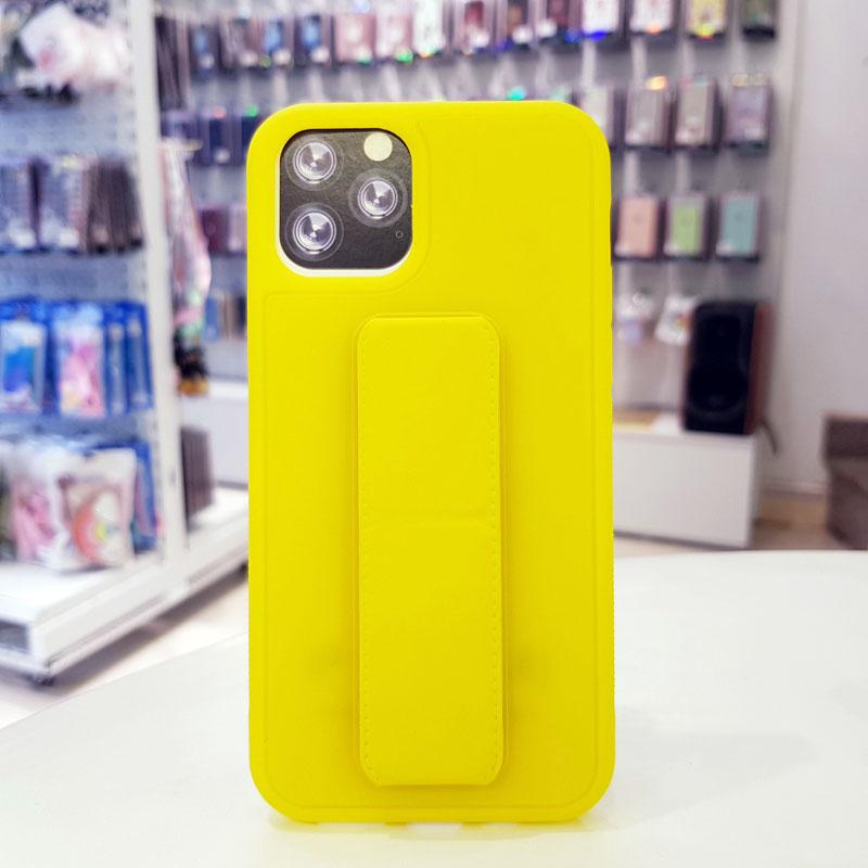 Ốp lưng iPhone X quai nam châm chống sốc màu vàng