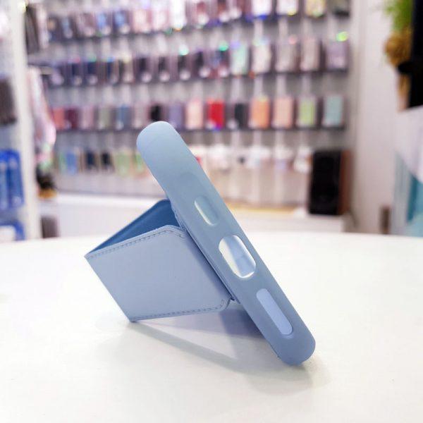Ốp lưng điện thoại quai nam châm xanh dương1