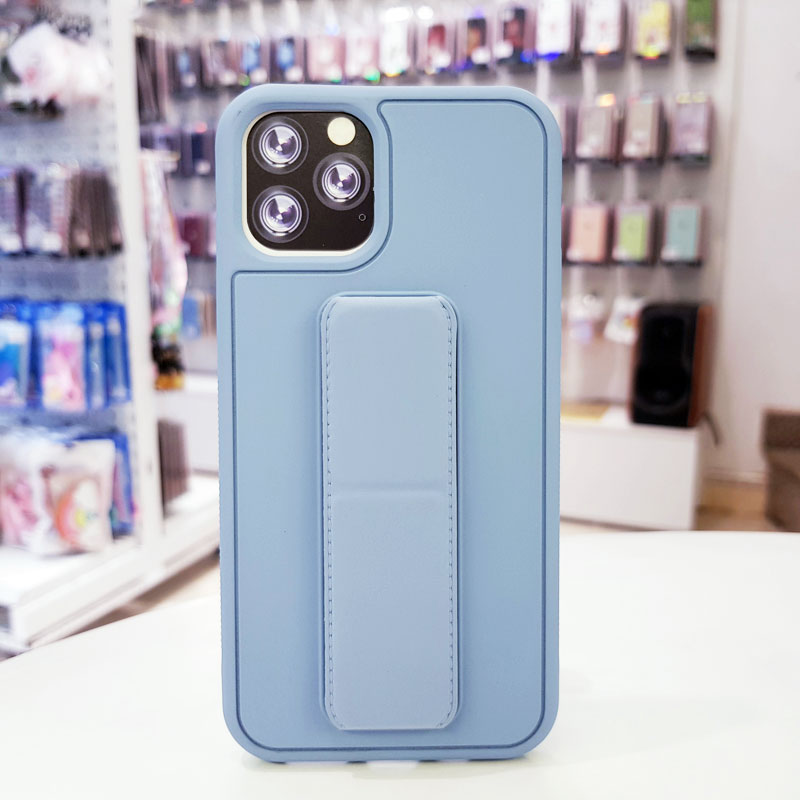 Ốp lưng iPhone X quai nam châm chống sốc màu xanh dương