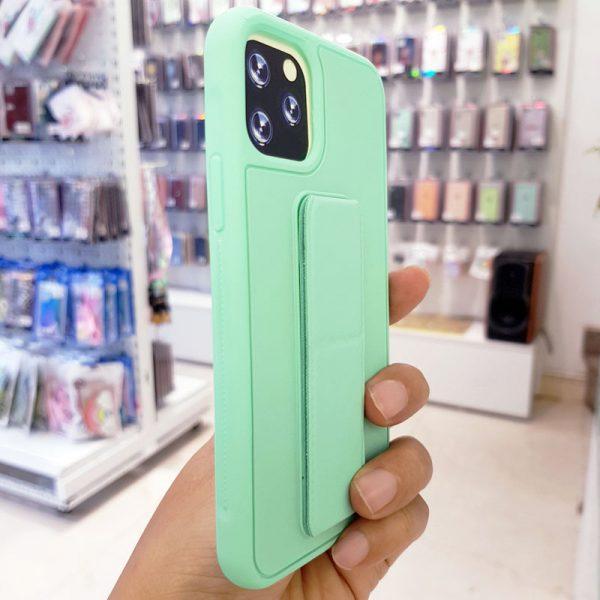 Ốp lưng điện thoại quai nam châm xanh ngọc3