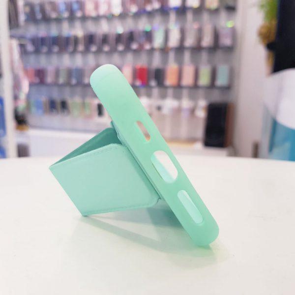 Ốp lưng điện thoại quai nam châm xanh ngọc