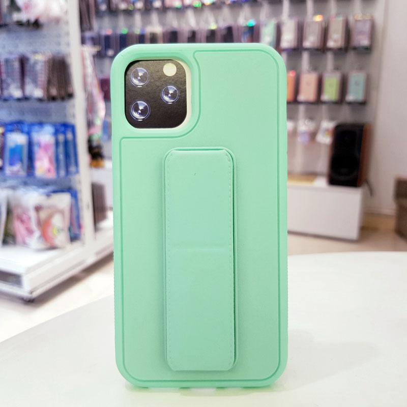 Ốp lưng iPhone X quai nam châm chống sốc màu xanh ngọc4
