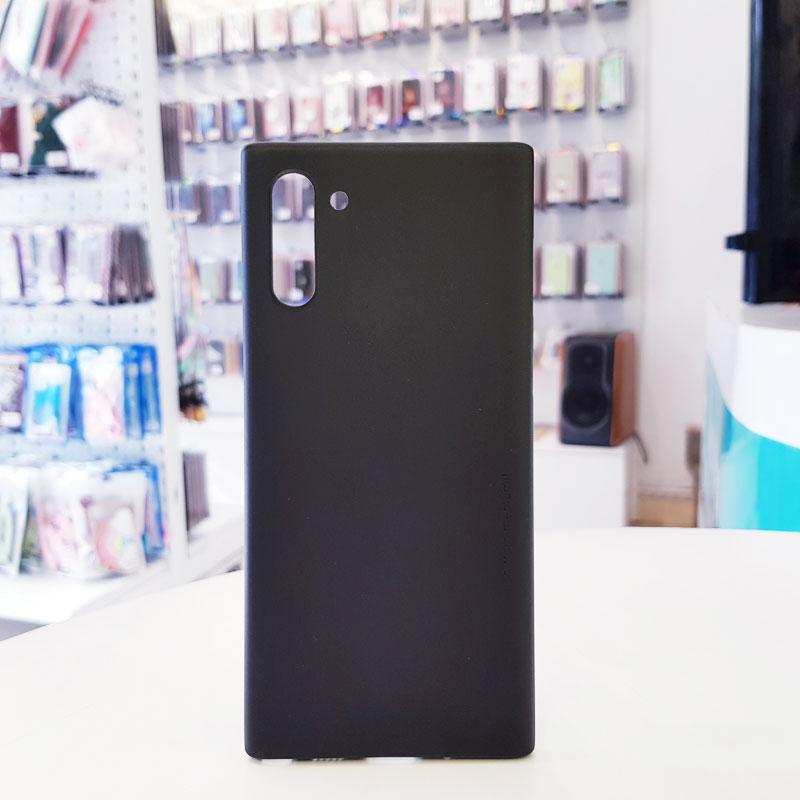 Ốp lưng Note 10 siêu mỏng 0.3mm Memumi đen
