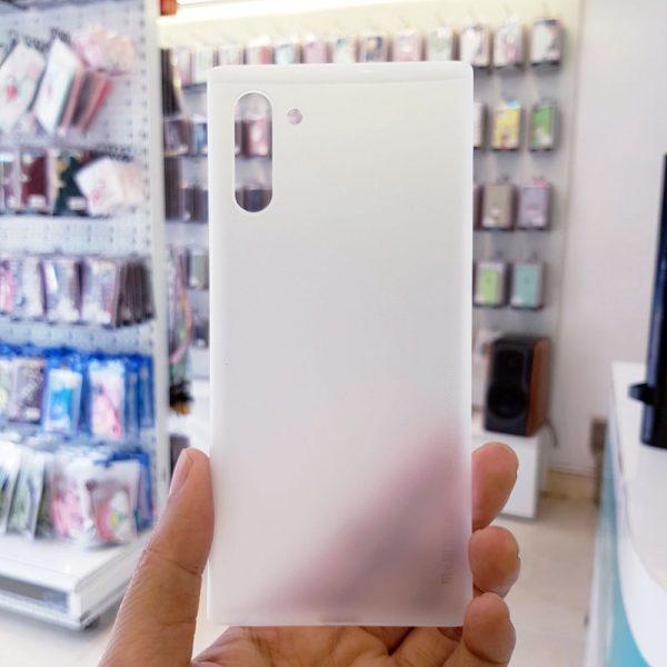 Ốp lưng điện thoại Samsung siêu mỏng Memumi trắng3