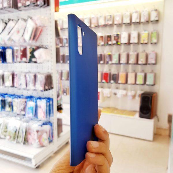 Ốp lưng điện thoại Samsung siêu mỏng Memumi xanh than5