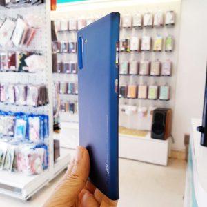 Ốp lưng điện thoại Samsung siêu mỏng Memumi xanh than4