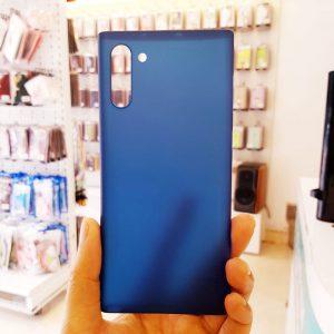 Ốp lưng điện thoại Samsung siêu mỏng Memumi xanh than3