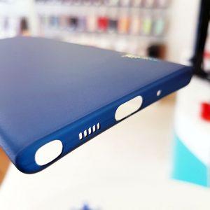 Ốp lưng điện thoại Samsung siêu mỏng Memumi xanh than2