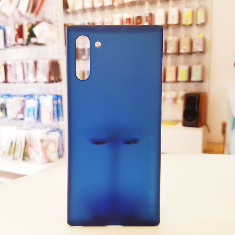Ốp lưng điện thoại Samsung siêu mỏng Memumi xanh than