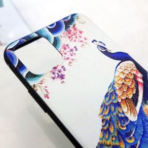 Ốp lưng điện thoại chim công biển1