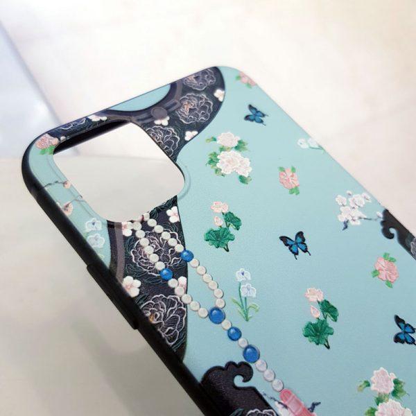 Ốp lưng điện thoại cung điện bướm xanh5