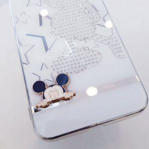 Ốp lưng điện thoại đính đá tybomb hình Mickey4