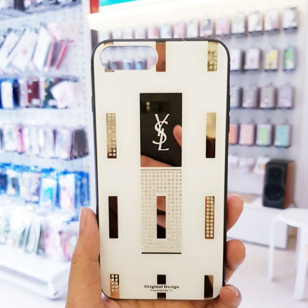 Ốp lưng điện thoại đính đá Tybomb YSL2