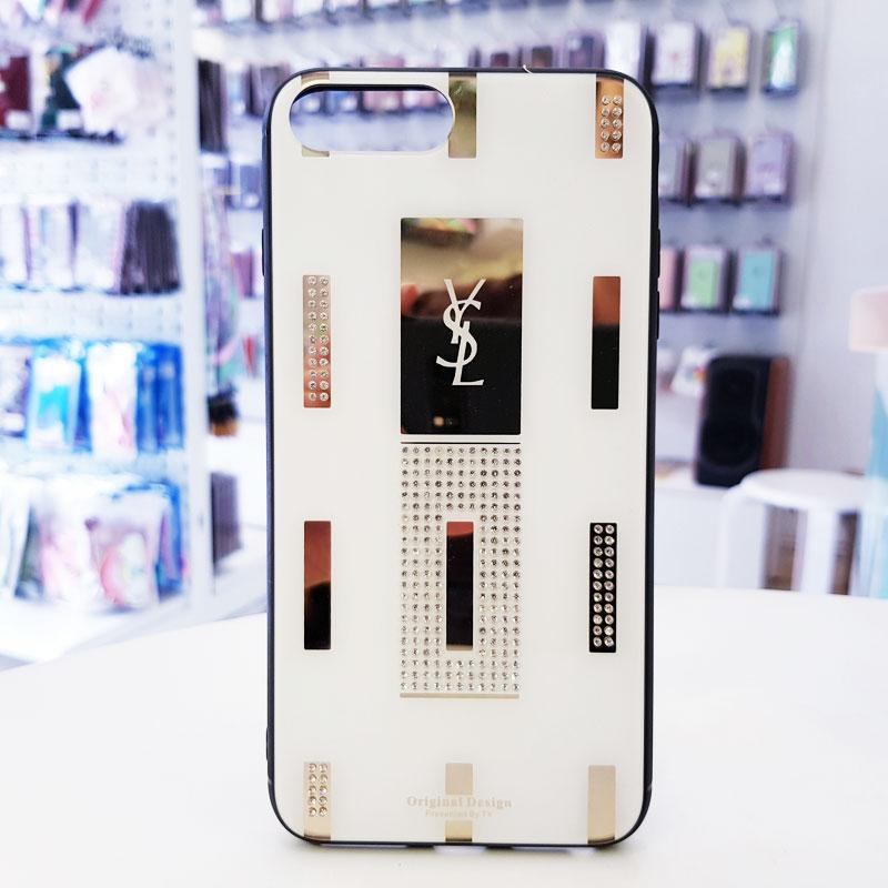 Ốp lưng điện thoại đính đá Tybomb YSL