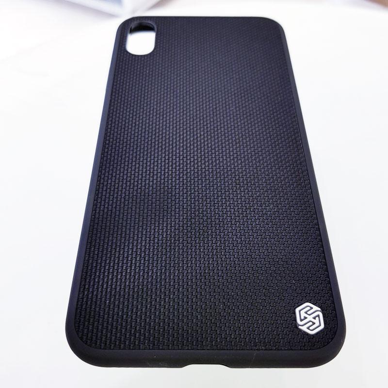 Ốp lưng iPhone X chính hãng Nillkin dệt vải2