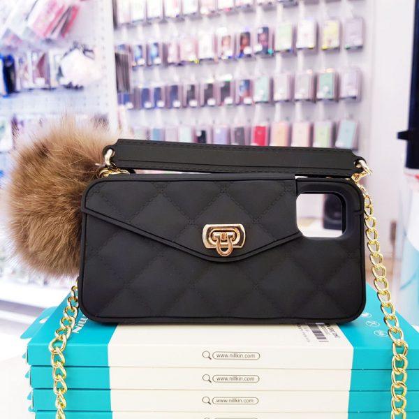 Ốp lưng điện thoại sang chảnh ví Chanel đen