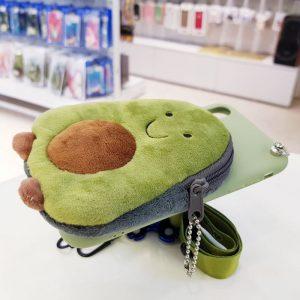 Ốp lưng điện thoại ví tiền quả bơ2